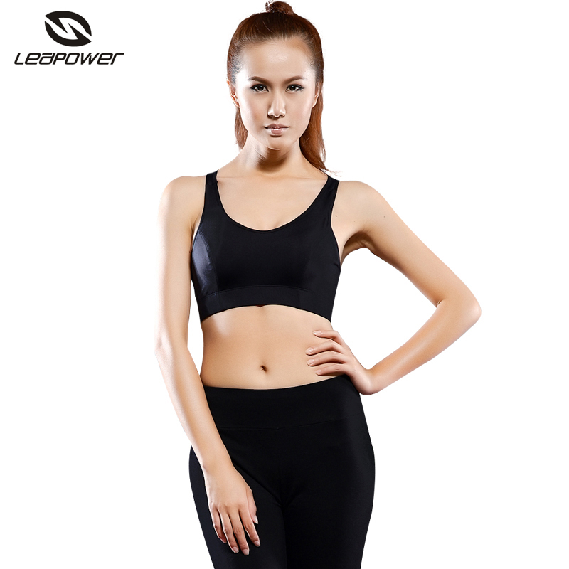 Wholesale Female Fitness Yoga Apparel Large Cup Cotton Nude Sports Bras