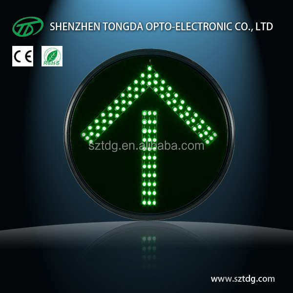 Waterproof Red /Yellow/ Green Arrow LED Traffic Lights factory ( CE& Rohs)