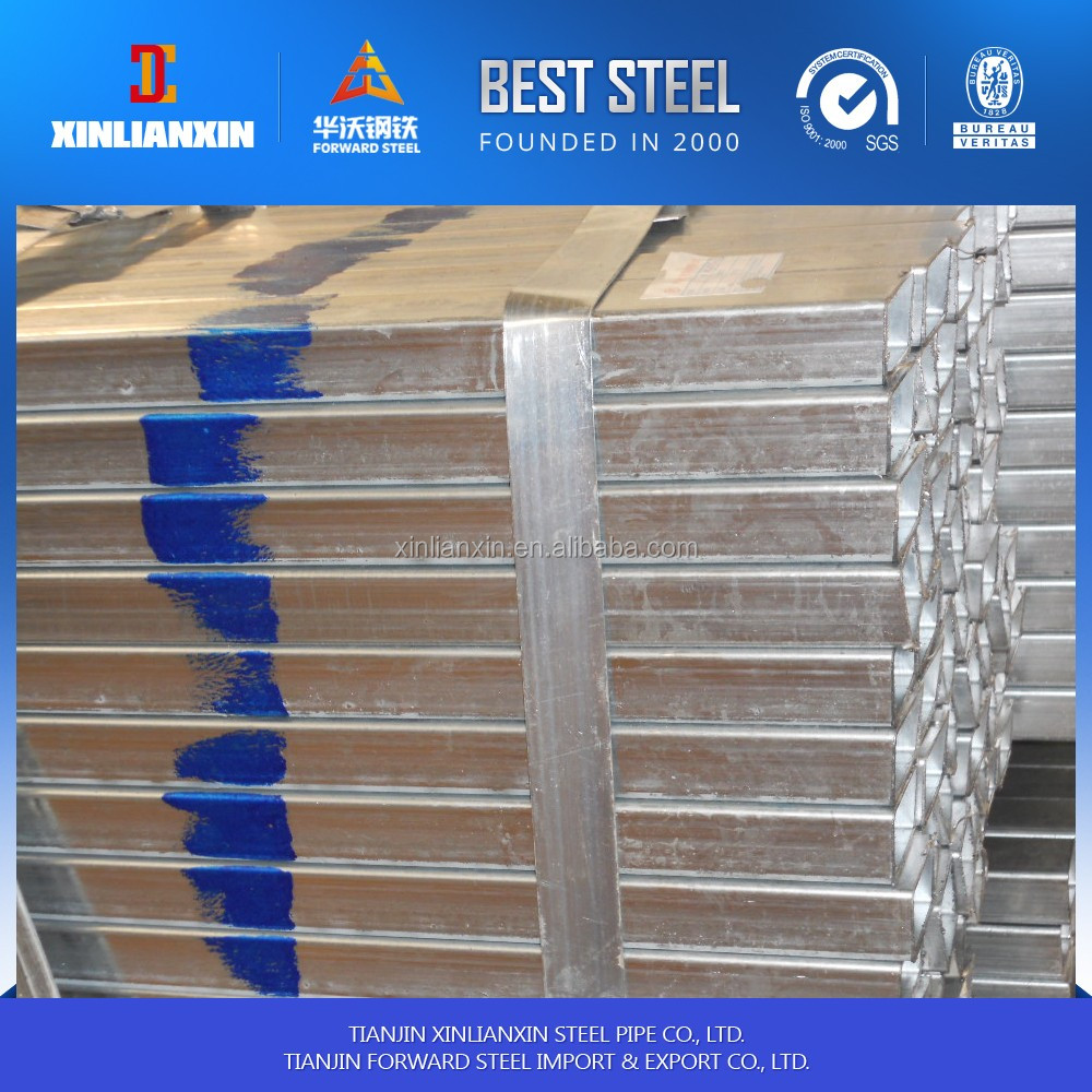 3.0-4.0mm thick wall Pre galvanized Square Steel Pipe /Pre Galvanzied Square Hollow Section