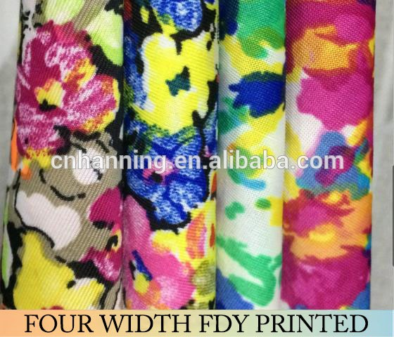 2017 Hot sale high quality 100% polyester knitting fabric,liverpool fabric printed, spandex