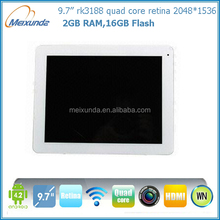 shenzhen vatop 2014 new tablet pc quad core tablet pc rk3188 retina screen android os