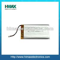 shenzhen factory lipo rechargeable battery 3.7v
