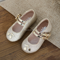 KS00265C 2017 Newest bling princess shoes 1-6 years old fashion boutique wholesale shoes