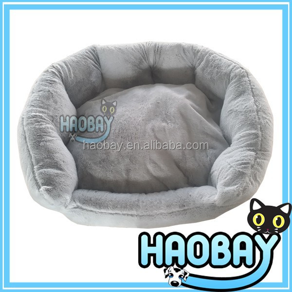 2014 new design comfortable soft plush pet products dog bed