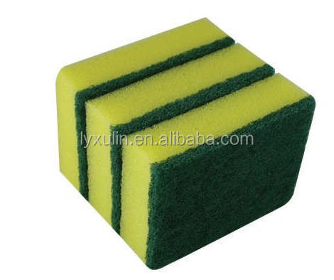 good sale dishes washing sponge scouring pad