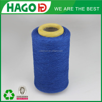 regenerated OE colored 65/35 polyester cotton blended yarn indigo