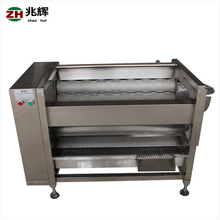 Industrial automatic yam potato cleaning machine