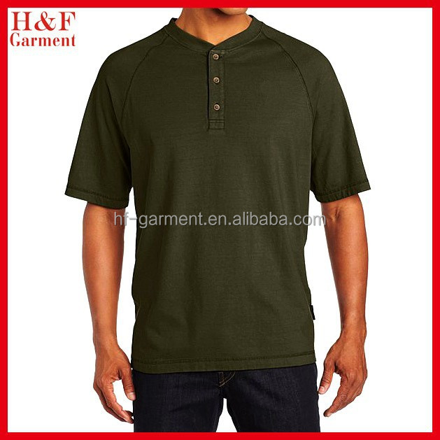 Men's Burke Henley T-Shirt with Short Sleeve