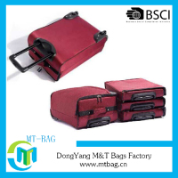 Top quality foldable trolley bag in stock manufacture selling lowest price