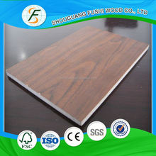 China supplier fireproof faced mdf price