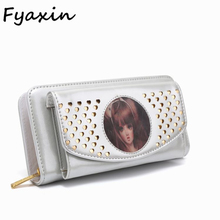 New Arrival Beautiful Design Womens Leather Wallet Purse Ladies Clutch Bags