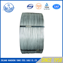 China galvanized steel wire for messenger directly From Factory with good quality