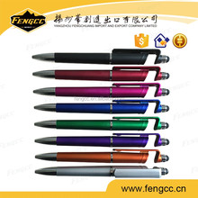 Top seller colored advertising plastic ballpen with logo