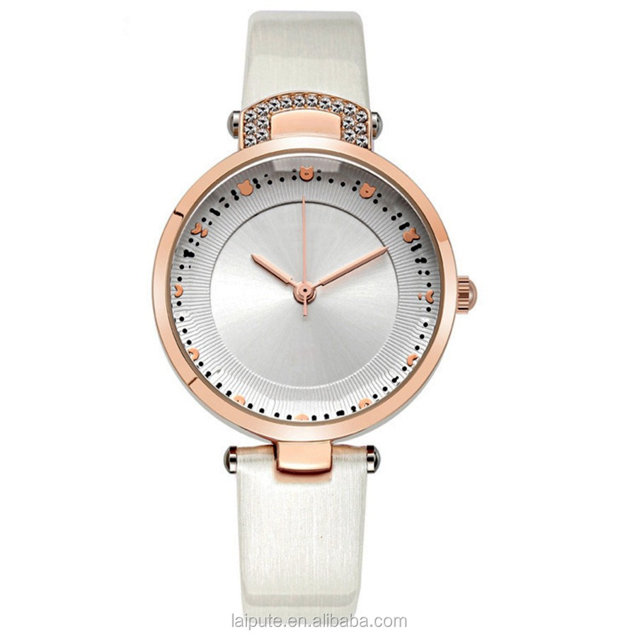 2017 montre lady jewelry watch rose gold Japan movt watch factory direct sale