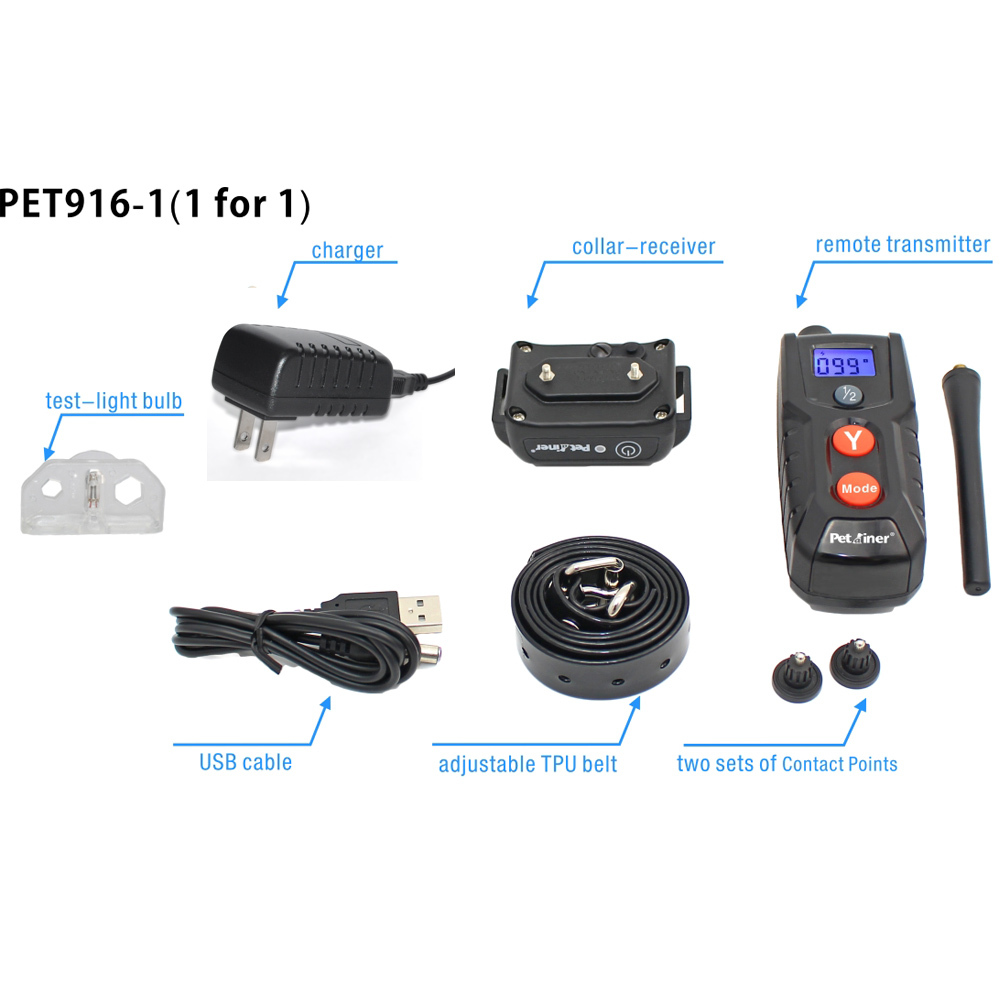 2014 the newest 100LV 300M Pet Dog Training E-Collar Shock Remote Control Anti Bark Free shipping