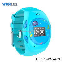 WONLEX Living waterproof IP54 mini personal wrist watch small gps tracking device for kids