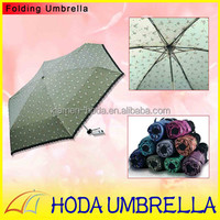 Market Umbrella with Flowers Printing Lace Sex Lady Parasol