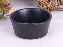 Factory direct wholesale stoneware ceramic ramekin with handle