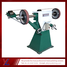 Double Heads 4KW Standing Arms Adjusting Abrasive Belt Grinder
