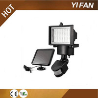 90leds On-time delivery factory directly outdoor 8 led waterproof motion sensor pir garden solar wall mount light