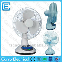 "Hotsales 12"" rechargeable fan pretty battery operated fan battery fan hats"