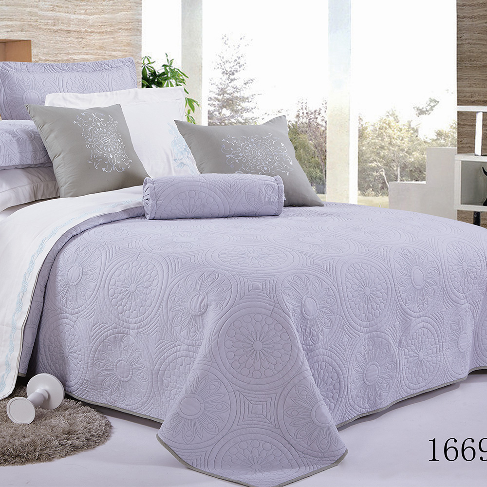 chinese import wholesale high quality cotton king size fitted bedspread