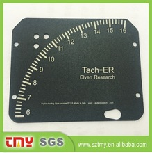custom metal brand logo plate and metal set tool for machine