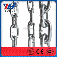 welded short link chain for sell in gunny bags