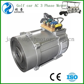 4kw 48v AC Motor for electric golf car