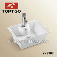 Elegant Above counter mounted basin Y-9108