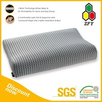 2015 new arrival & free sample triangle foam pillow
