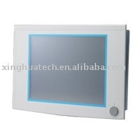 "17"" SXGA TFT LCD Celeron M Fanless Industrial Panel PC with 2 x PCI Slots"