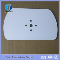 2mm 3mm 3.2mm 4mm 5mm 6mm 8mm 10mm 12mm thick clear toughened safety painted glass with holes