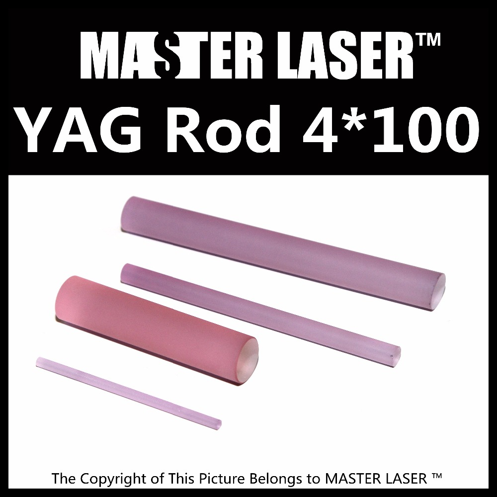 2017 Nd: YAG Rod 4*100mm for Metal <strong>Laser</strong> Engraving Machine