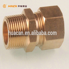HC-Brand Forged Brass Compression Fittings for copper pipe