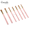 Beauty products 7pcs eyeshadow eyebrow concealer brushes cosmetic brush sets