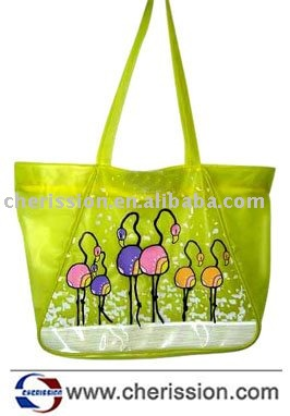 Fashional clear pvc beach bag