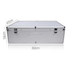 Aluminum CD DVD Storage Case 1000 Discs