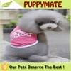 Breathable adidog T-shirt dog clothes /puppy apparel pet clothes dog summer vest