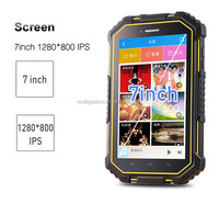 "7"" IPS Screen Quad Core 3G 4G 2+32G industrial fully rugged tablet"