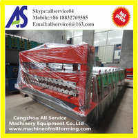 Corrugated Metal Roof Sheet Roll Forming Machine With Low Price
