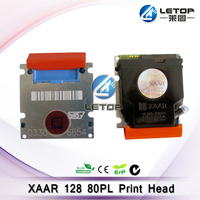 High quality! Letop supply Infiniti Wit-color Myjet printer used 80 PL head xaar 128 360