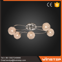 Contemporary chandelier ball shaped light pendant living room lighting lamps