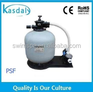 swimming pool waste water filtration system sand filter with pump
