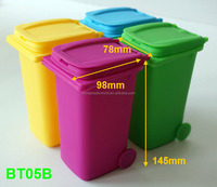 Creative Plastic Mini Desktop Trash, Recycling Bin,fancy desktop bin