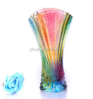 Newest Cheap Home Decoration Flower Glass Vase