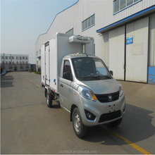 Mini refrigerator cold freezer transport truck Refrigerated Box Vans for sale