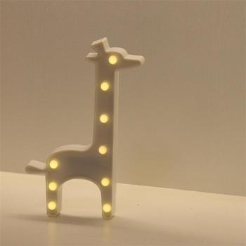 Night Light Christmas Holiday Gift Giraffe Marquee Lights