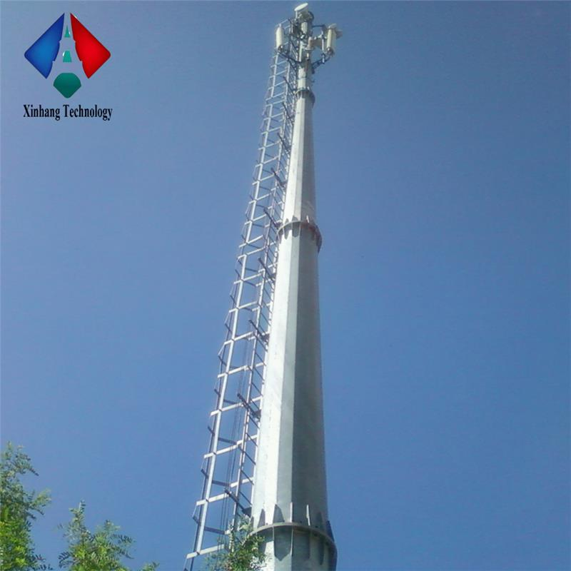 promotion price communication towers cellular monopole steel tower