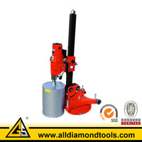 250mm Red Concrete Coring Machine For
